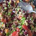 Salade de blé aux haricots